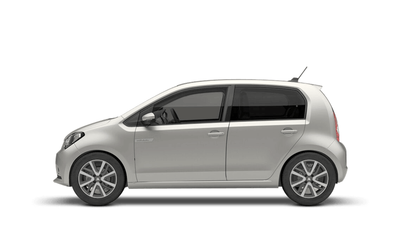 Tungsten Silver (Metallic) SEAT Mii Electric