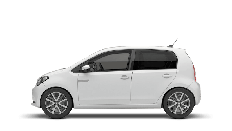 White (Solid) SEAT Mii Electric