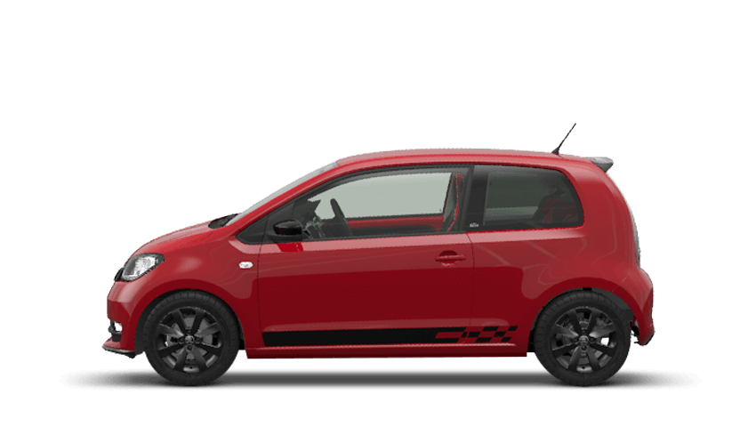 Tornado Red (Solid) ŠKODA Citigo