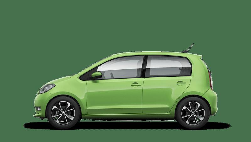 Kiwi Green (Solid) New ŠKODA CITIGOe iV