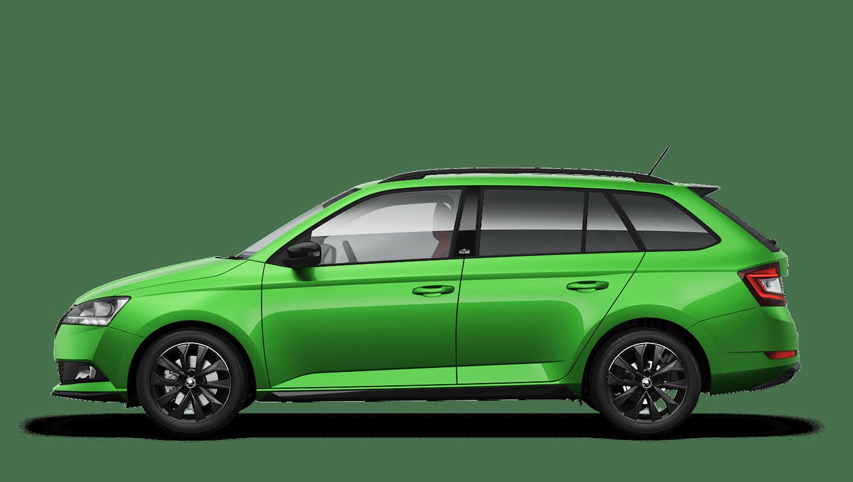 Rallye Green (Metallic) New ŠKODA FABIA Estate