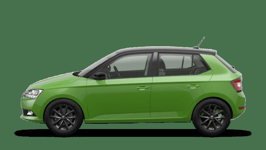 Rallye Green (Metallic) New ŠKODA FABIA Hatch
