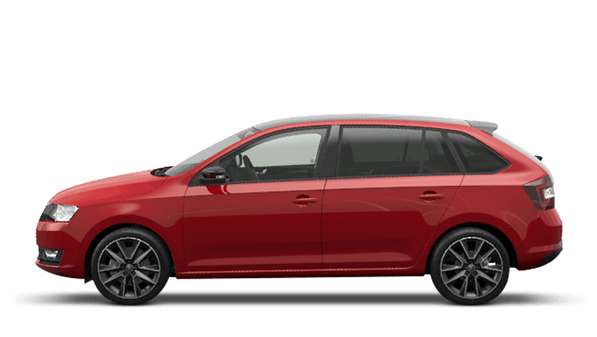 Corrida Red (Solid) ŠKODA Rapid Spaceback