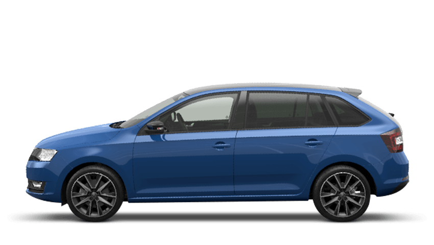 Energy Blue (Solid) ŠKODA Rapid Spaceback
