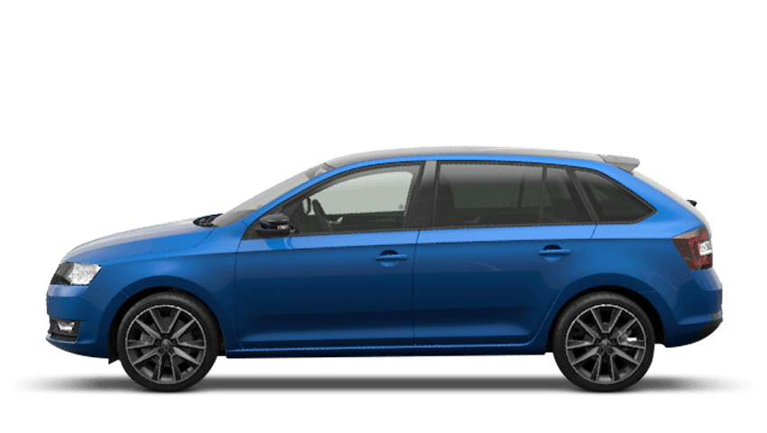 Race Blue (Metallic) ŠKODA Rapid Spaceback