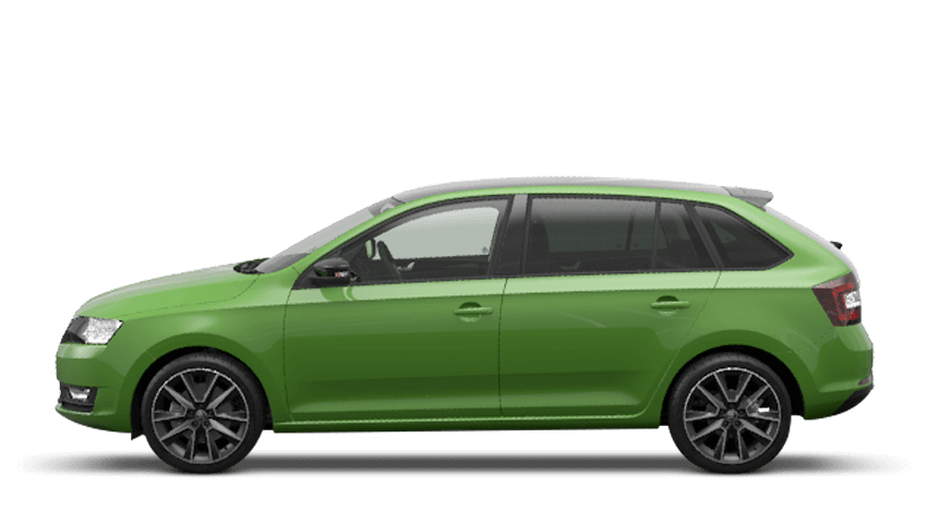 Rallye Green (Metallic) ŠKODA Rapid Spaceback