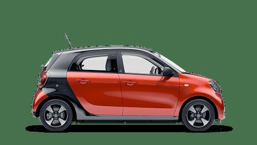 Explore the smart EQ forfour Motability Price List