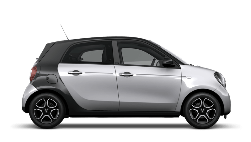 Cool Silver (Metallic) smart EQ forfour