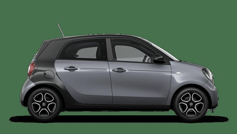Graphite Grey (Metallic) smart EQ forfour