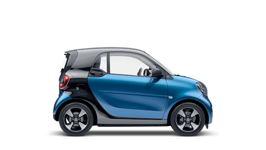 Explore the smart EQ fortwo coupe Motability Price List