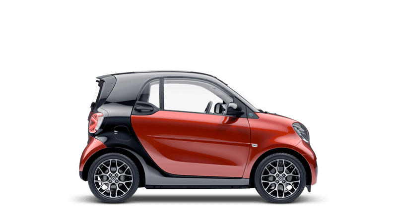 smart EQ fortwo coupe prime exclusive
