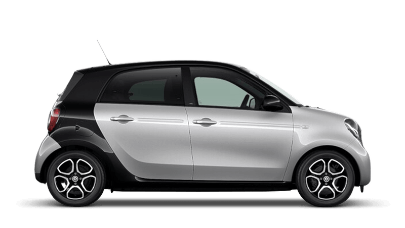 Cool Silver (Metallic) smart forfour