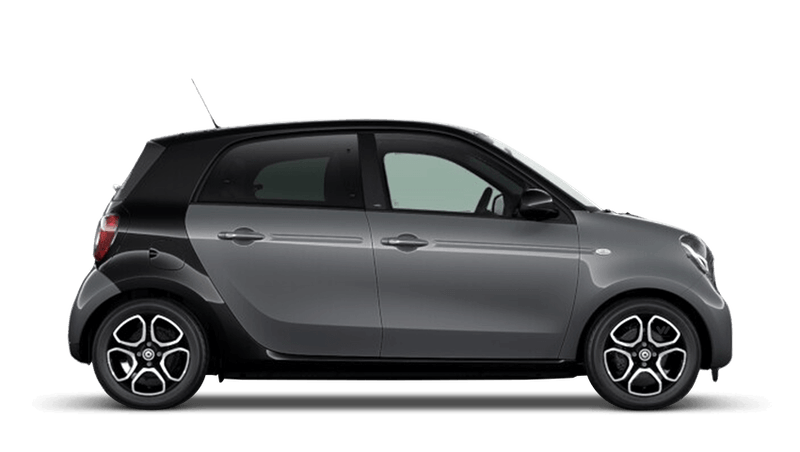 Graphite Grey (Metallic) smart forfour