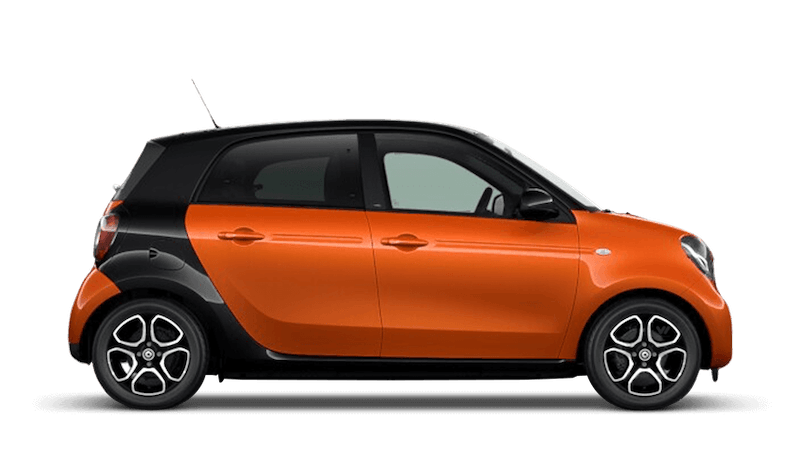 Lava Orange (Metallic) smart forfour