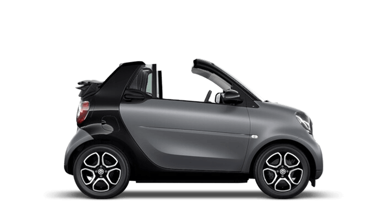 Matt Titania Grey (Metallic) smart fortwo cabrio