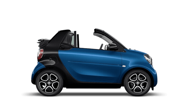 Midnight Blue (Metallic) smart fortwo cabrio
