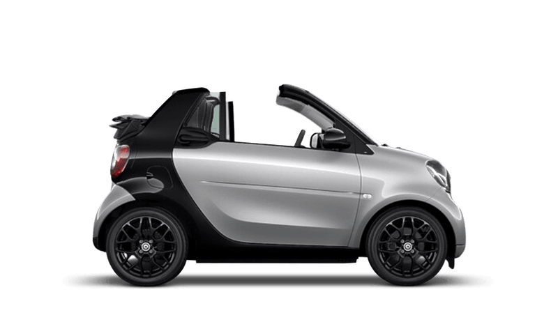 Cool Silver (Metallic) smart fortwo cabrio