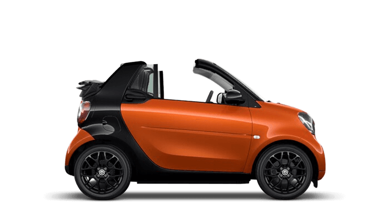 Lava Orange (Metallic) smart fortwo cabrio