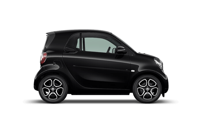 Black smart fortwo Coupe