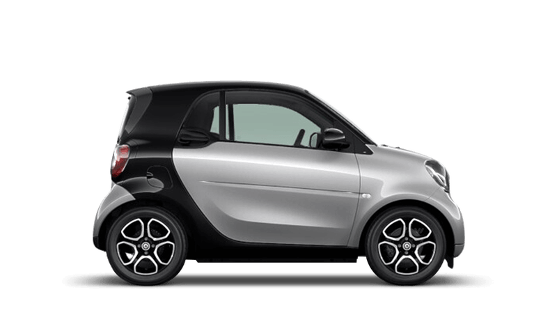 Cool Silver (Metallic) smart fortwo Coupe