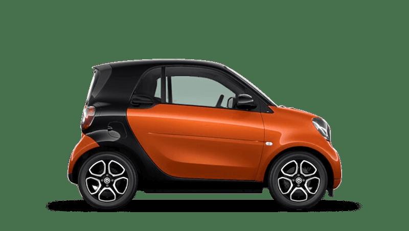 Lava Orange (Metallic) smart fortwo Coupe