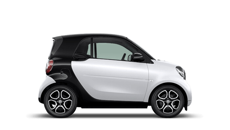Matt Moon White (Metallic) smart fortwo Coupe
