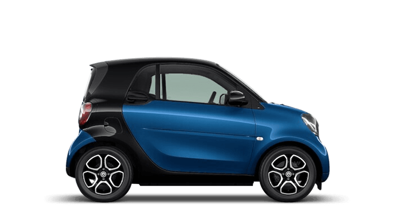 Midnight Blue (Metallic) smart fortwo Coupe