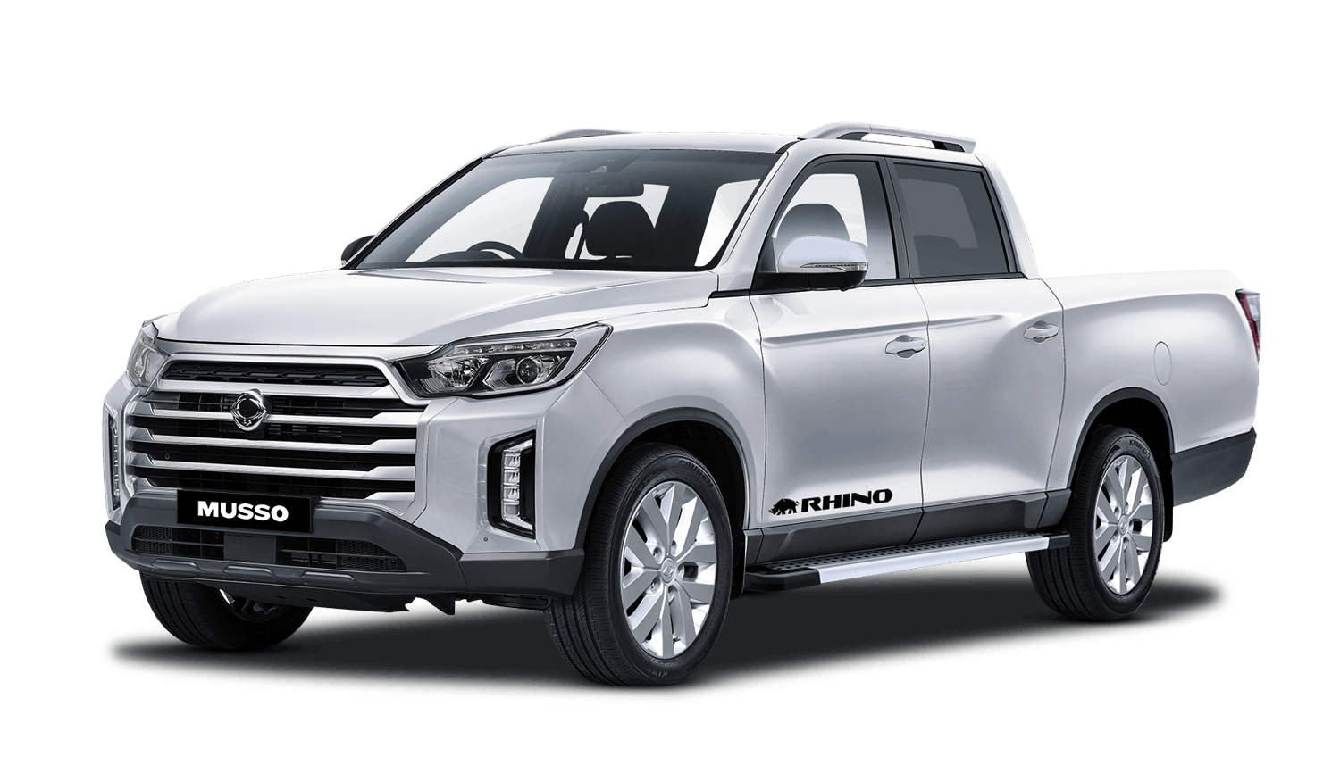 Fine Silver Ssangyong Musso