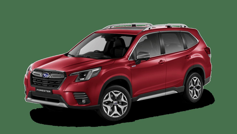 Crimson Red Pearl Subaru Forester E Boxer