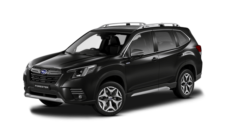 Crystal Black Silica Subaru Forester E Boxer