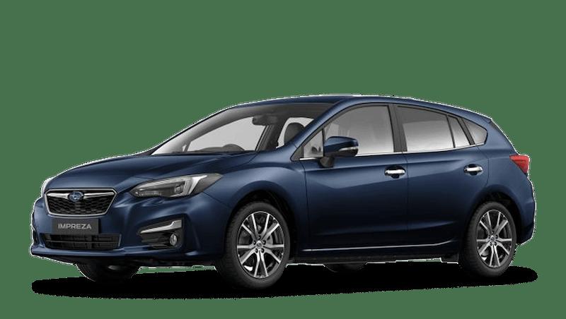 Dark Blue Pearl Subaru Impreza