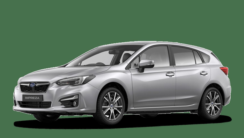 Ice Silver Metallic Subaru Impreza