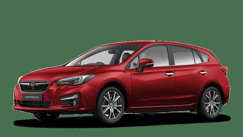 Venetian Red Pearl Subaru Impreza