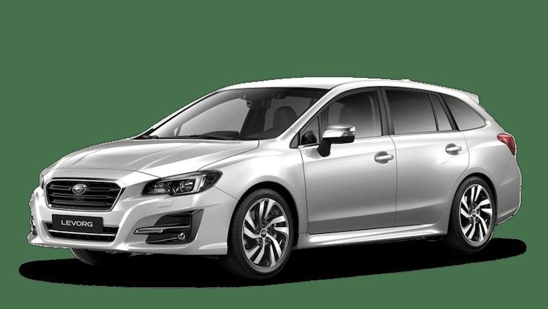 Crystal White Pearl Subaru Levorg