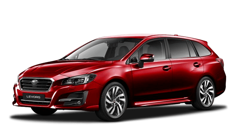 Pure Red Subaru Levorg