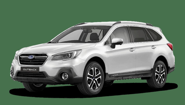 Crystal White Pearl Subaru Outback