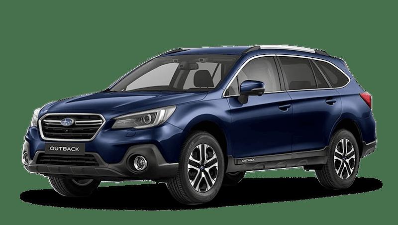 Dark Blue Pearl Subaru Outback