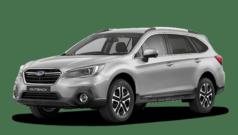 Ice Silver Metallic Subaru Outback