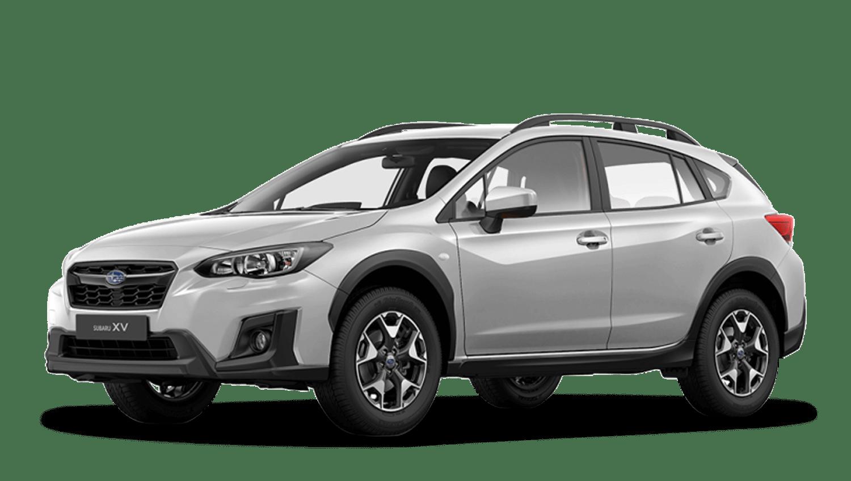 Ice Silver Metallic Subaru Xv