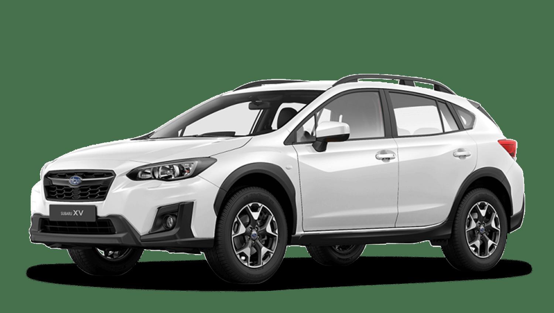 Crystal White Pearl Subaru Xv