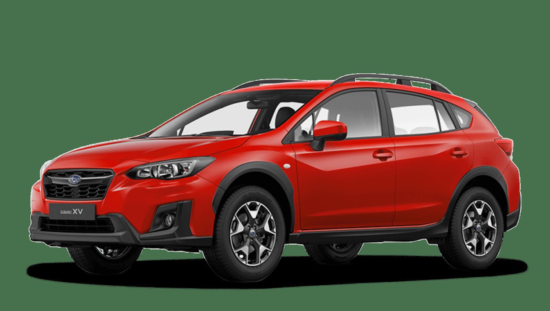 Pure Red Subaru Xv