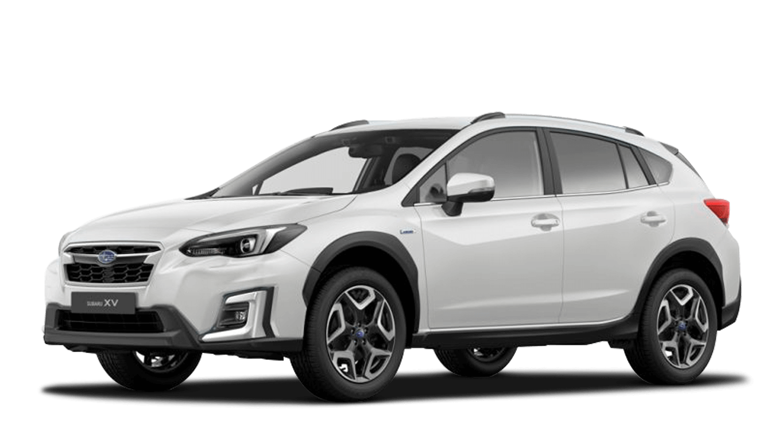 Crystal White Pearl Subaru Xv E Boxer