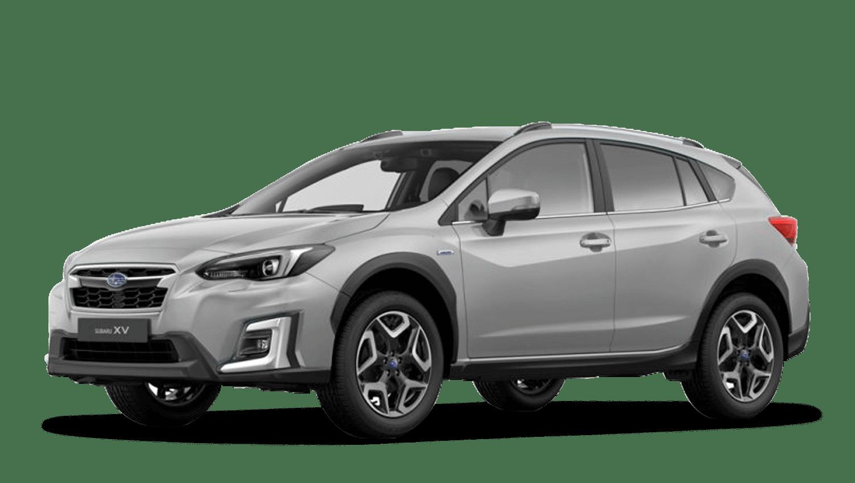 Ice Silver Metallic Subaru Xv E Boxer