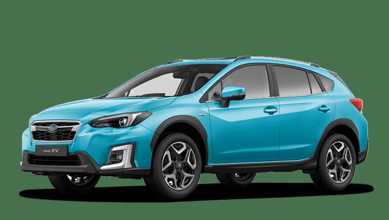 Lagoon Blue Pearl Subaru Xv E Boxer
