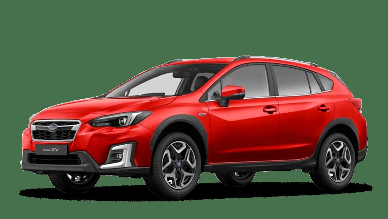 Pure Red Subaru Xv E Boxer