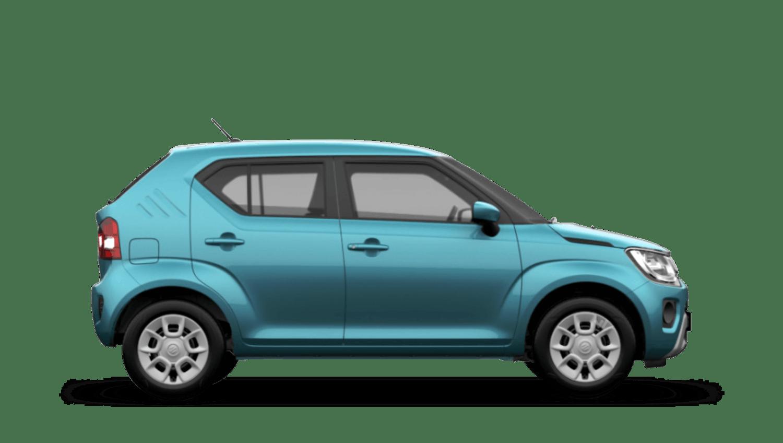 Neon Blue (Metallic) Suzuki Ignis