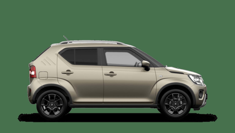 Caravan Ivory with Black Roof (Metallic Dual Tone) Suzuki Ignis