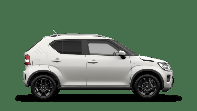 Pure White Pearl with Black Roof (Dual Tone) Suzuki Ignis