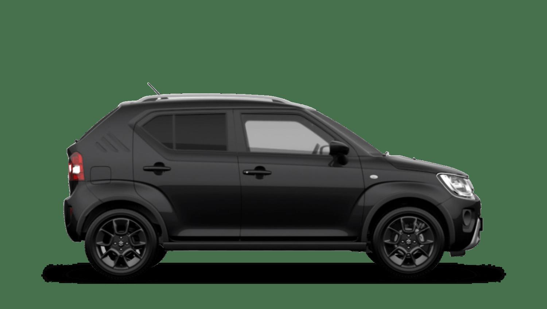 Super Black (Metallic) Suzuki Ignis