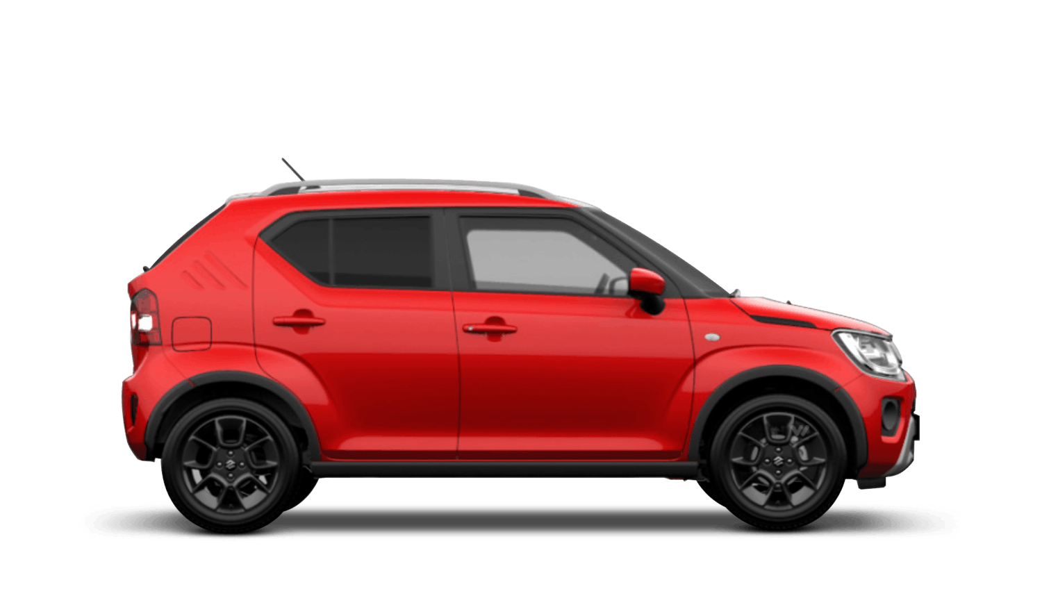 Fervent Red with Black Roof (Dual Tone) New Suzuki Ignis